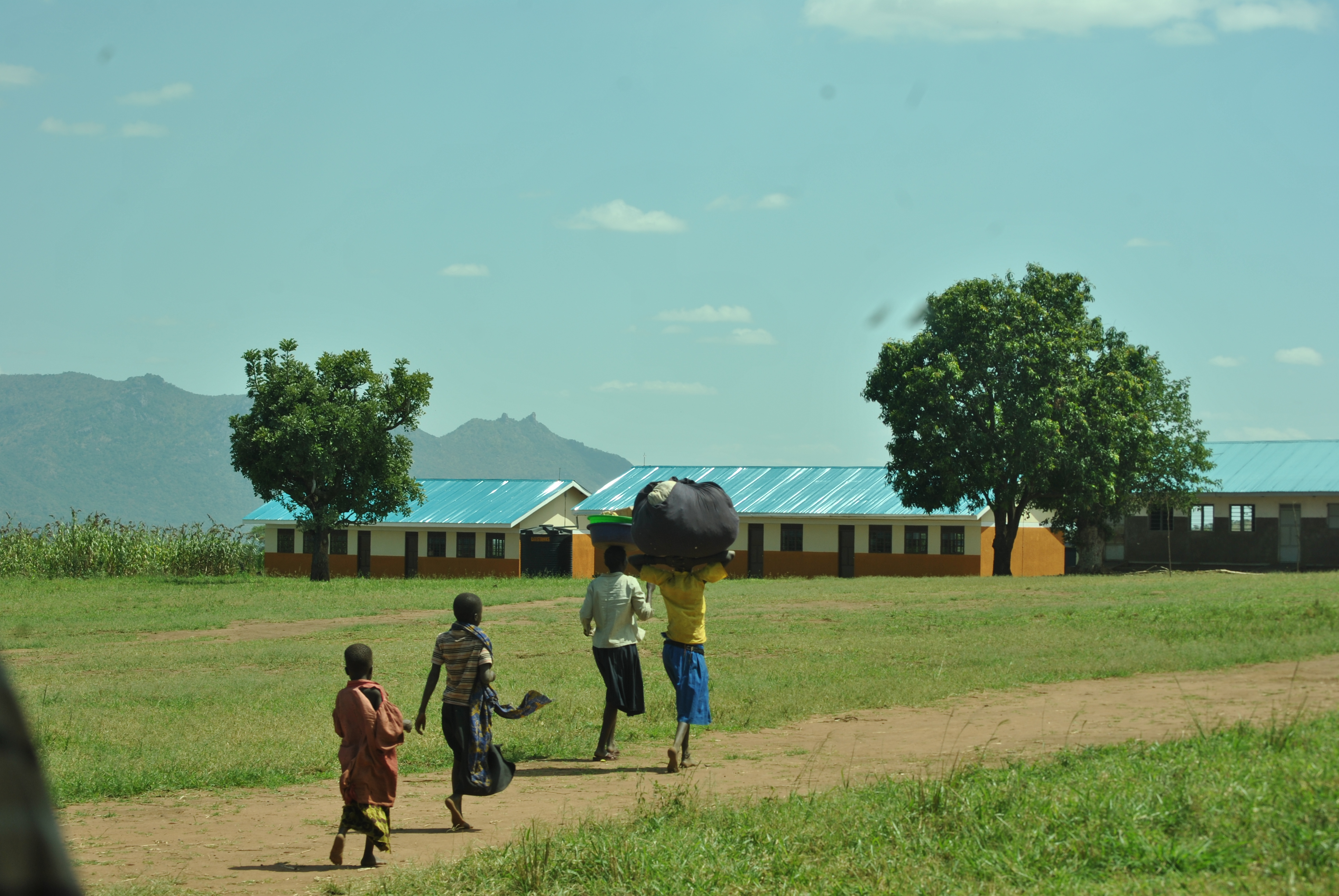 18 06 16 Photo of Children - Orom village, Kitgum