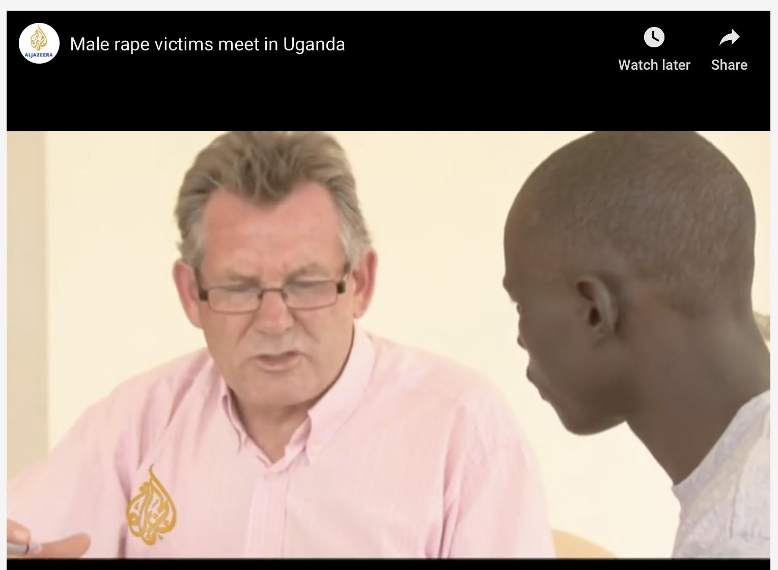 Male Rape Victims Meet in Kampala