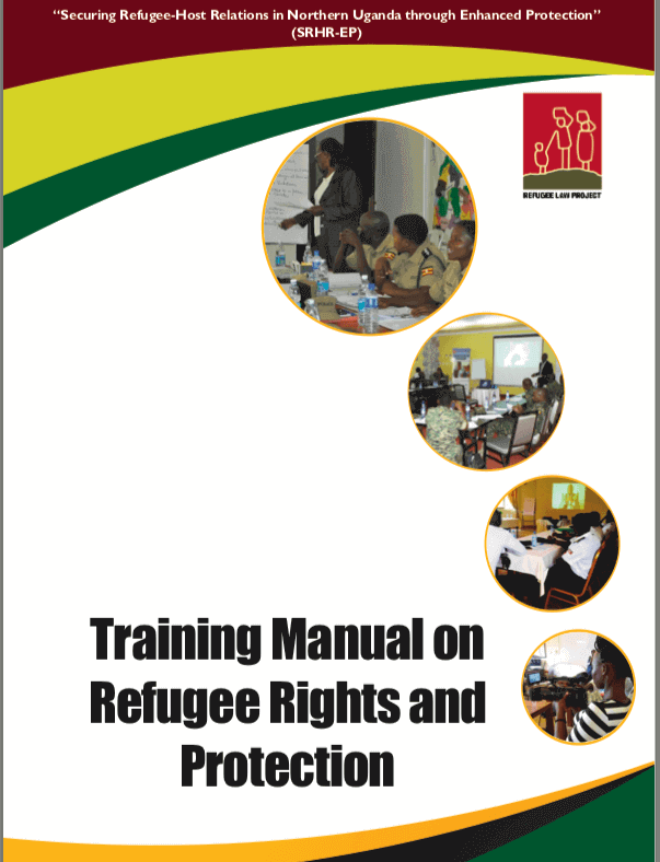 Training Manual on Refugee Rights and Protection