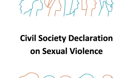 Civil Society Declaration on Sexual Violence 2019